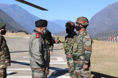 CDS Gen Rawat visits forward air bases in Arunachal