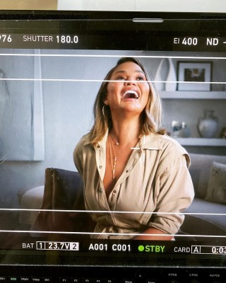 Chrissy Teigen has an unusual reason not to be disturbed