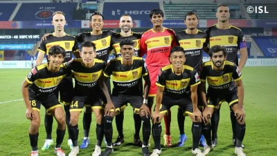 Colaco's late goals help Hyderabad to 4-2 win over NorthEast