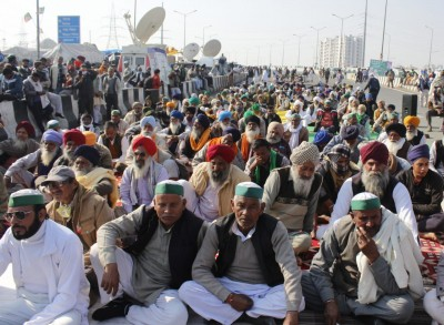 Cong flays govt for 'apathy' towards protesting farmers