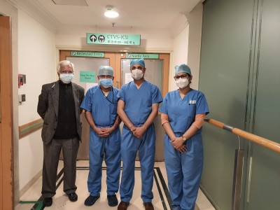 Delhi hospital performs 1st keyhole chest surgery on Covid patient