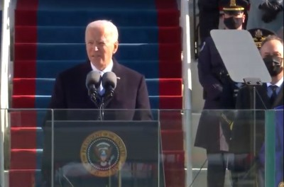 Democracy has prevailed, says US President Joe Biden