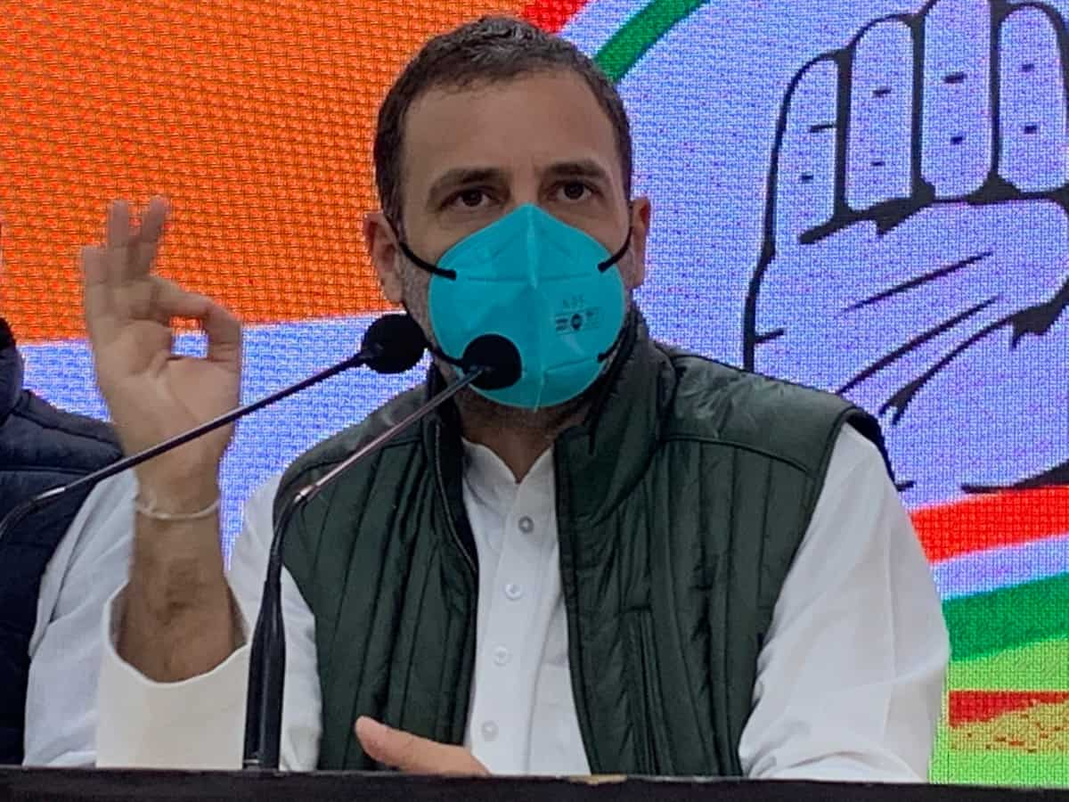 Govt wants to tire out farmers but they cannot be fooled: Rahul Gandhi Read more At: https://aninews.in/news/national/general-news/govt-wants-to-tire-out-farmers-but-they-cannot-be-fooled-rahul-gandhi20210119144706/