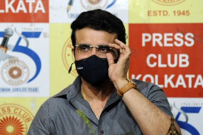 Ganguly hospitalised again with chest pain