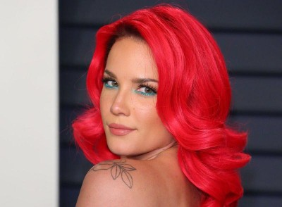 Halsey says make-up helped her deal with 'really ugly' break-up