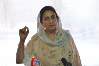 How long will you wait to implement farm Bills: Harsimrat asks CM