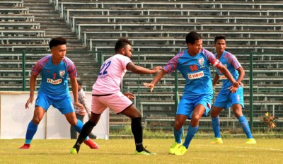I-League: Arrows snatch 1-1 draw with late goal against Aizawl
