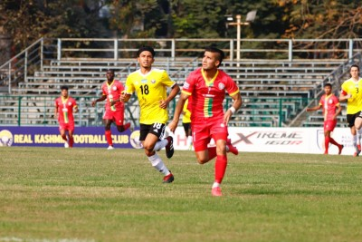 I-League: Mithun Chakraborty fan Komron Tursunov shines, on cloud nine