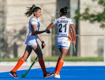 Indian women's hockey team, Argentina juniors draw 2-2