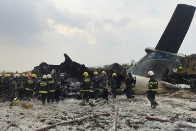 Indonesian plane with over 60 people crashes in waters off Jakarta