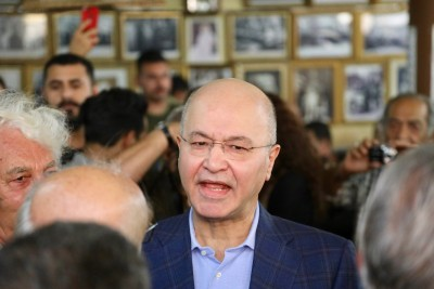 Iraqi prez warns against foreign interference in Iraq's internal affairs