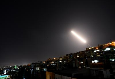 Israeli missile attack targets Syrian military sites