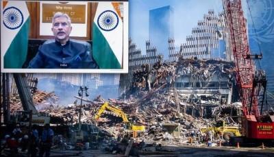 Jaishankar calls out China, Pak on terrorism, unveils 8-point plan