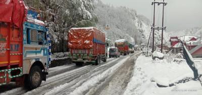 Jammu-Srinagar highway to remain closed on Monday