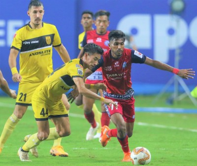 Jamshedpur end string of defeats with 0-0 draw vs Hyderabad
