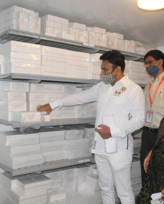 Karnataka to get 20,000 doses of Covaxin also