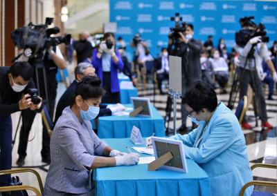 Kazakh ruling party wins parliamentary election