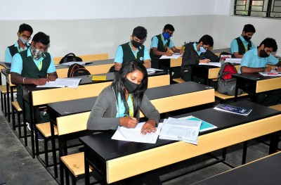 K'taka: Schools, pre-university colleges reopen after nine months