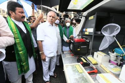 K'taka rolls out 40 mobile agro clinics to help farmers
