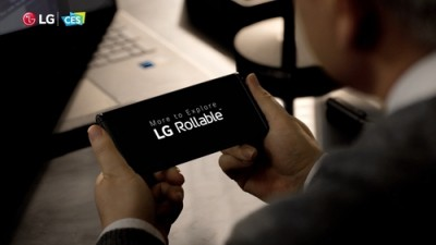 LG features rollable smartphone, virtual human at CES 2021