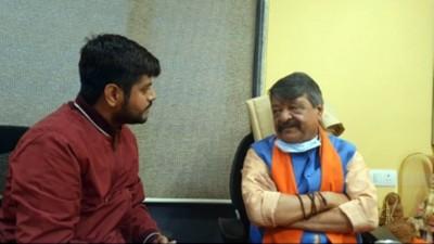 Mamata is contesting from Nandigram as she is afraid: Kailash Vijayvargiya (IANS interview)