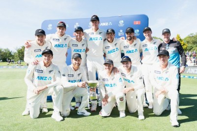 New Zealand for the first time ranked no. 1 in Tests