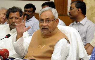 Nitish loses cool after being asked about rising crime graph in Bihar