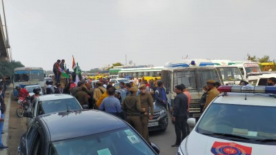 No farmers' tractor march on KMP e-way
