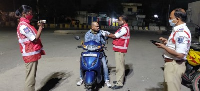 Over 1,700 booked for drunken driving in Greater Hyderabad