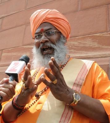 Owaisi will help us win UP, Bengal: Sakshi Maharaj
