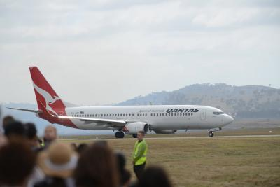 Qantas resumes bookings for int'l flights