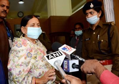 RJD leaders will discuss Nitish's return to Grand Alliance: Rabri Devi