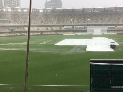 Rain could affect fourth and final India-Australia Test