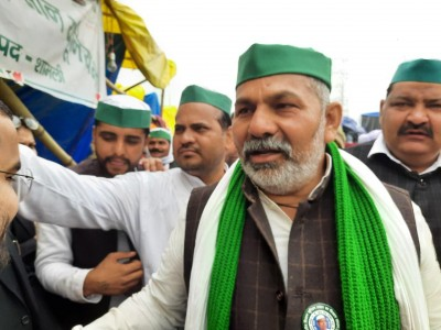 Rakesh Tikait welcomes SC order, but says farmer protests will continue
