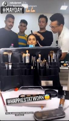 Rakul Preet resumes shoot of 'MayDay', says she's happiest at work