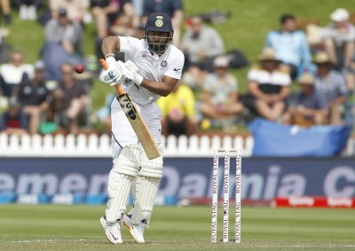 Rishabh Pant hit on elbow, taken for scans as Saha dons gloves