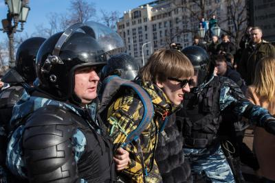 Russia criticises US embassy for supporting unsanctioned protests