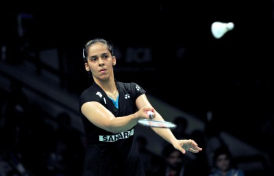 Saina and rest of Indian squad leave for Thailand