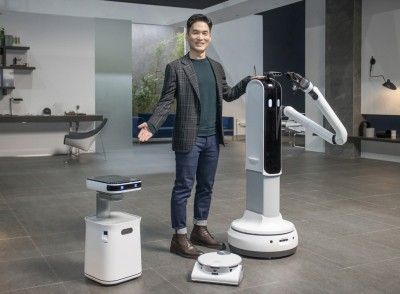 Samsung unveils upgraded robots, AI-based solutions at CES 2021