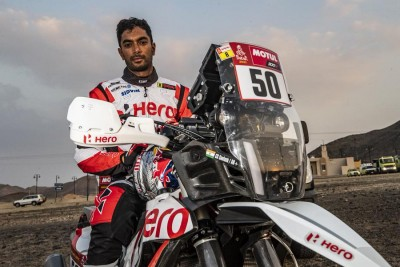 Santosh suffers major crash at Dakar Rally, in medically induced coma