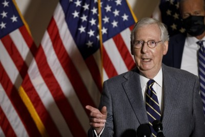 Senate majority leader again rejects vote on $2k stimulus checks
