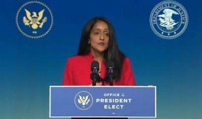 Senior-level Biden nominee Vanita Gupta recalls experience of racial bigotry