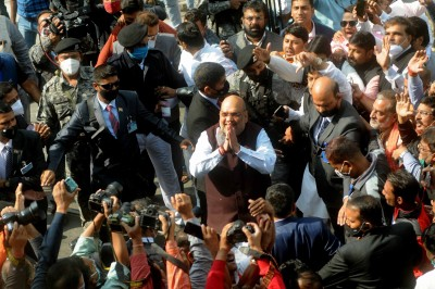 Shah briefs WB party leaders about roadmap to win 200 seats