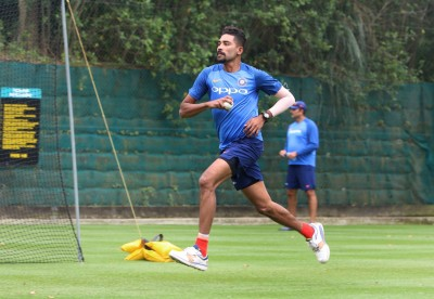 Subdued celebrations at Mohammed Siraj's house