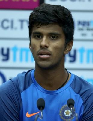 Sundar emerges as a balancing option after he bats, bowls at nets