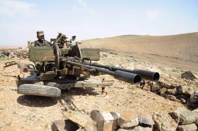 Syrian govt condemns 'terrorist' attacks in desert region