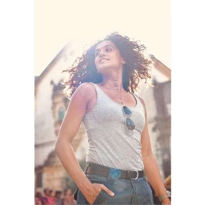 Taapsee has a 'flare in hair moment'