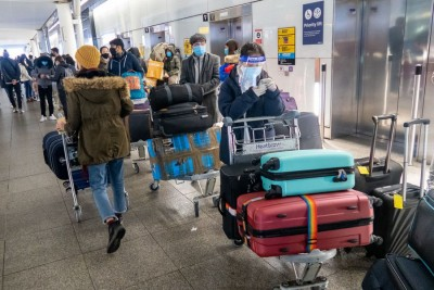 Travellers to England, Scotland to require negative Covid-19 tests
