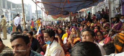 Tripura teachers' protest enters 36th day, govt yet to reach out