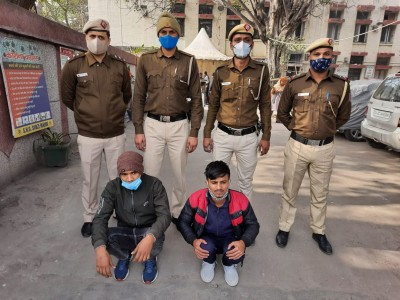 Two held for cheating 70-yr-old in Delhi
